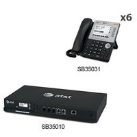 AT & T SB35010 + (6) SB35031 Built-in Auto-Attendant Day/Night Modes