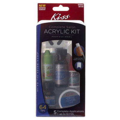 Kiss complete salon acrylic nail kit reviews for Acrylic nails salon