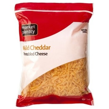 Market Pantry Shredded Mild Cheddar - 32 oz.