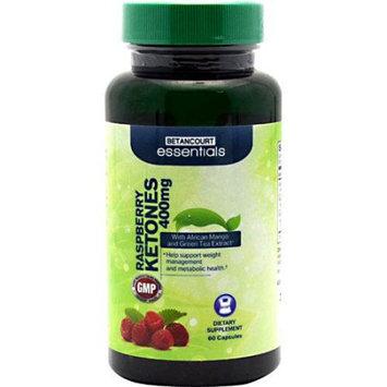 BETANCOURT ESSENTIALS Betancourt Essentials Raspberry Ketones, 60 Capsules - 400mg