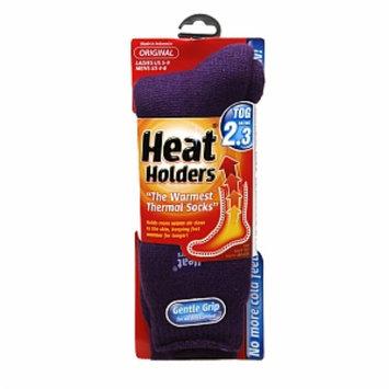 Heat Holders Thermal Socks Original, Purple, Ladies US 8-13, Mens US 7-12, 1 pr