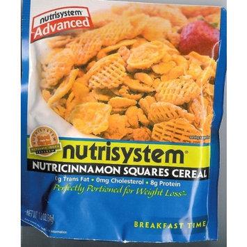NutriSystem Advanced Nutricinnamon Squares Cereal