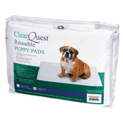 ClearQuest Puppy Reusable Pad, Large, White