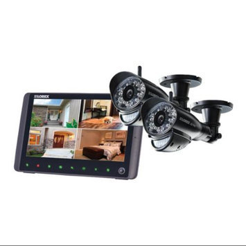 Lorex LW2962H 9-inch LCD Integrated SD DVR with 2 Digital Wireless Indoor / Outdoor Security Cameras