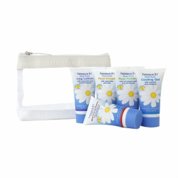 Herbacin Foot Care Starter Set (Aluminum Box)