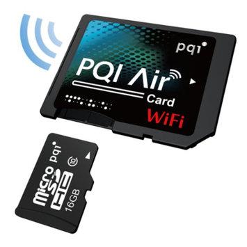 Pqi PQI Air Card 16GB Wireless Flash Memory Wi-Fi Memory Card