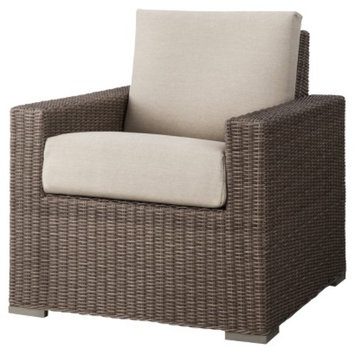 Wicker Club Chair: Threshold Tan Patio Furniture, Heatherstone