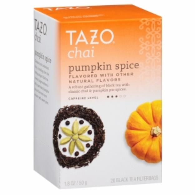 Tazo Tea, Pumpkin Spice Chai, 20 ea