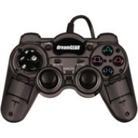 DreamGear Turbo Controller for PS2 - Grey