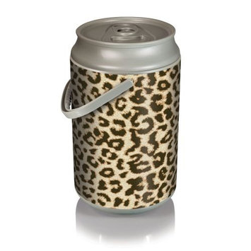 Picnic Time Mega Can Cooler - Cheetah Print Can