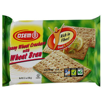 Osem Sunny Wheat Bran Crackers