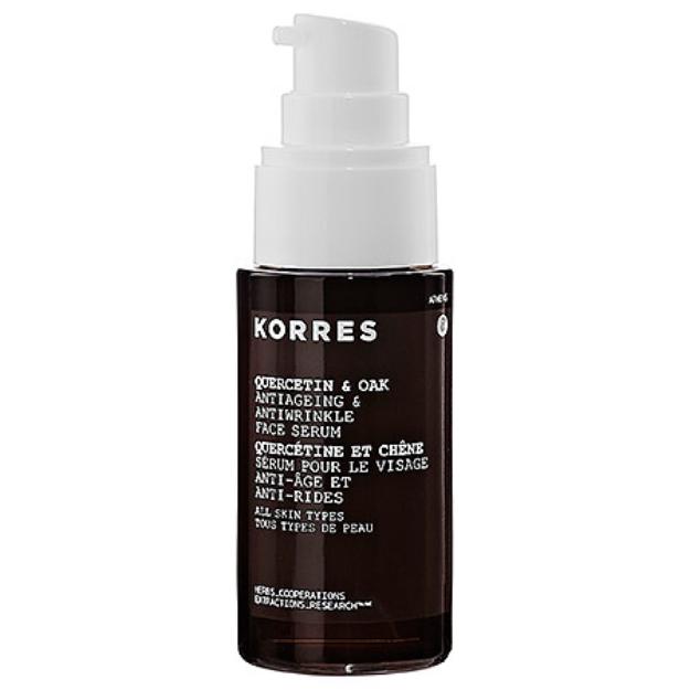 Korres Quercetin & Oak Antiaging Antiwrinkle & Firming Face Serum 1.01 oz