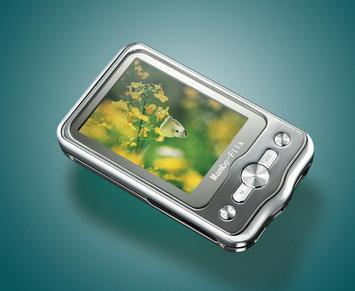 Kaser Mambo Flix MP4 player Silver/gray