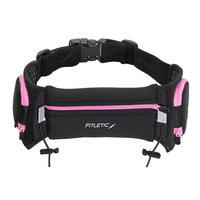 David Shaw Silverware Na Ltd Quench Retractable Hydration Belt Black/Pink-L/XL