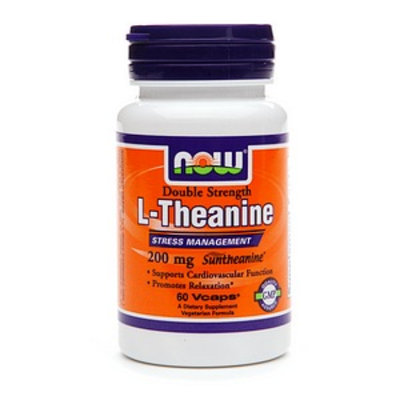 NOW Foods Theanine 200mg with Inositol