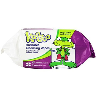 Pampers Kandoo Flushable Wipes Magic Melon