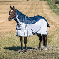 Horze Equestrian HorZe Bristol Fly Blanket with Waterproof Back