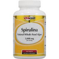 Vitacost Brand Vitacost Spirulina Natural Whole Food Algae -- 3000 mg per serving - 360 Tablets