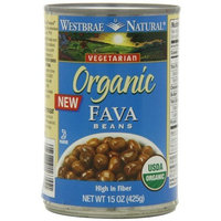 Westbrae Natural Organic Fava Beans, 15 Ounce Cans (Pack of 12)