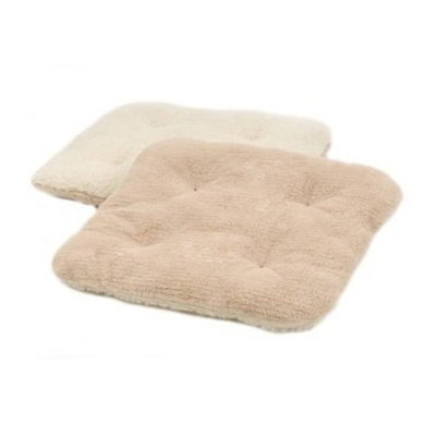 Precision Pet Cat Eye Bed Natural Terry/Sheepskin Sleeper, Deluxe