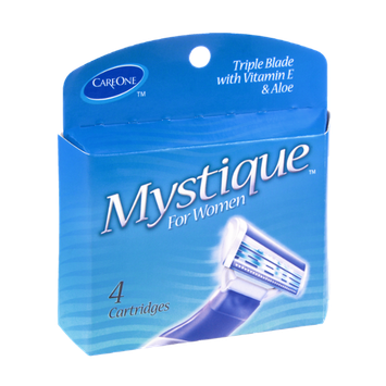 CareOne Mystique Triple Blade with Vitamin E and Aloe Cartridges