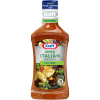Kraft Fat Free Zesty Italian Dressing