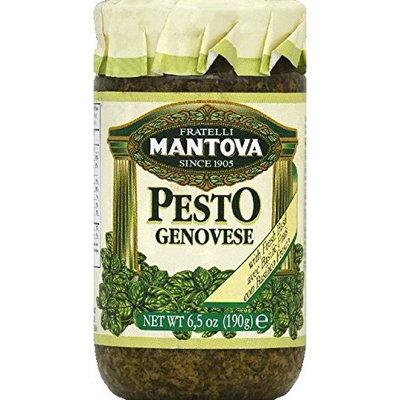 Mantova, Sauce Pesto Genovese, 6.5 OZ (Pack of 12)
