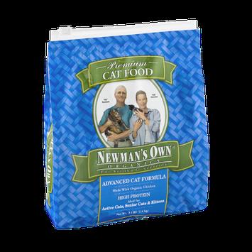 Newman's Own Organics Advanced Premium Cat Food