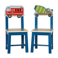 Guidecraft Moving All Around Extra Chairs 2 ea, Multi, 1 ea