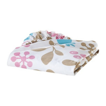 Sumersault Branches Fitted Crib Sheet