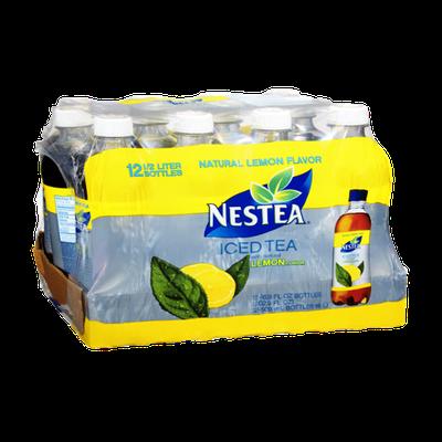 Nestea Natural Lemon Flavor Iced Tea - 12 PK