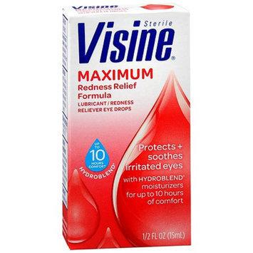 Visine Maximum Redness Relief Formula
