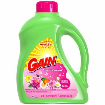 Gain FreshLock Floral Fusion Liquid Laundry Detergent