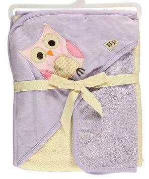 Hudson Baby Owl Hooded Towel & Washcloth Set