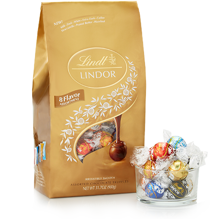 Lindt Ultimate 8-flavor Assortment Lindor Truffles
