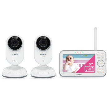 Vtech Expandable Digital Video Baby Monitor with 2 Cameras, Motorized Lenses & 6x Optical Zoom