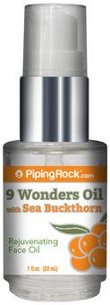 Piping Rock 9 Wonders Oil 1 fl oz Pump Bottle