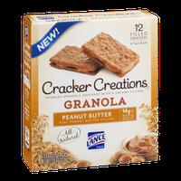 Lance Cracker Creations Granola Granola Peanut Butter Filled - 6 CT