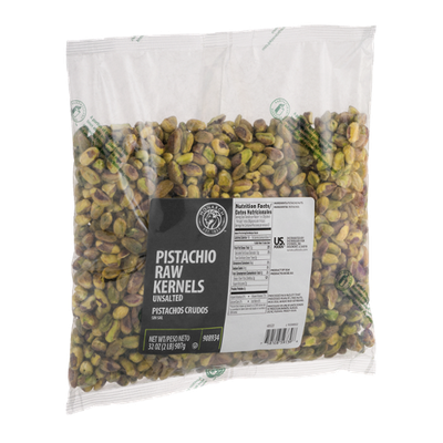 Monarch Pistachio Raw Kernels Unsalted