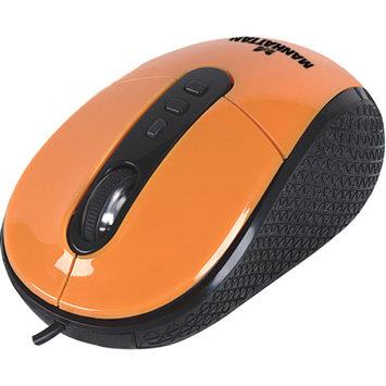 Manhattan 177696 Righttrack USB Mouse, Orange
