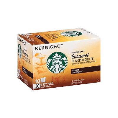 STARBUCKS® Caramel Smooth & Buttery K-Cups® Pods