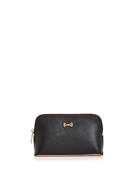 Ted Baker Lilliya Bow leather small wash bag, White
