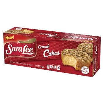Sara Lee Crumb Cakes 6 ct