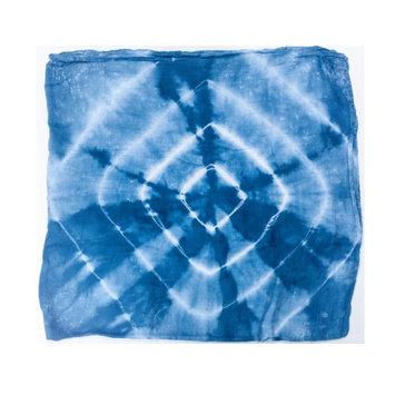 Austin Tie Dye Co Bamboo Swaddle Blanket - Indigo Tie Dye