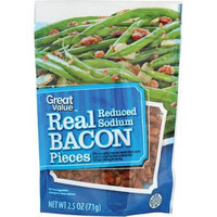 Great Value Reduced Sodium Real Bacon Pieces, 2.5 oz