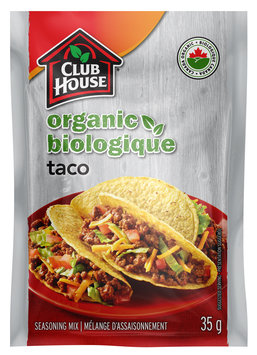 Club House Organic Taco Seasoning Mix