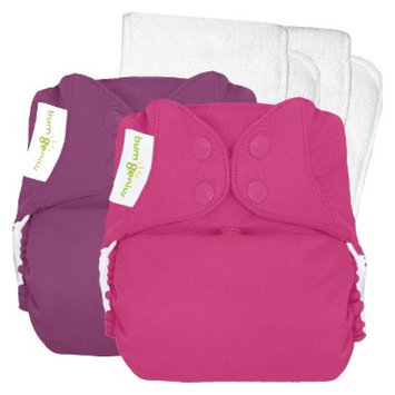 Bum Genius bumGenius 4.0 Snap Reusable Diaper 2 Pack - One Size, Dazzle/Countess