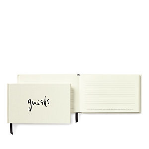 kate spade new york 'well wishes' guest book