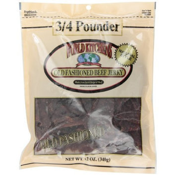 World Kitchens Natural Style Old Fashioned Beef Jerky, 12 oz