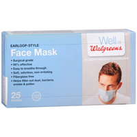 Walgreens Earloop Style Face Mask, 25 ea